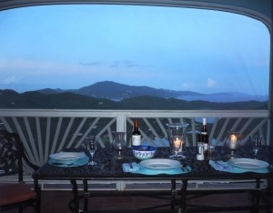 Candlelight Dinner Overlooking Coral Bay