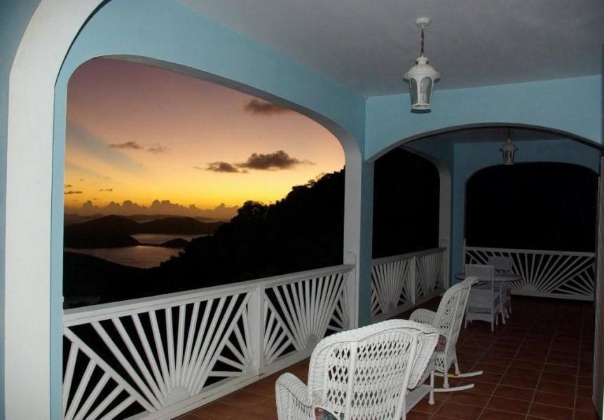 Sunrise from Waterlemon Villa
