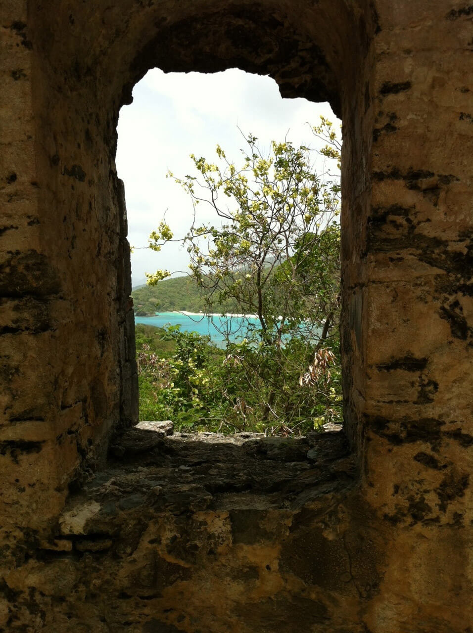 The Sights of St. John - View from Peace Hill Ruins