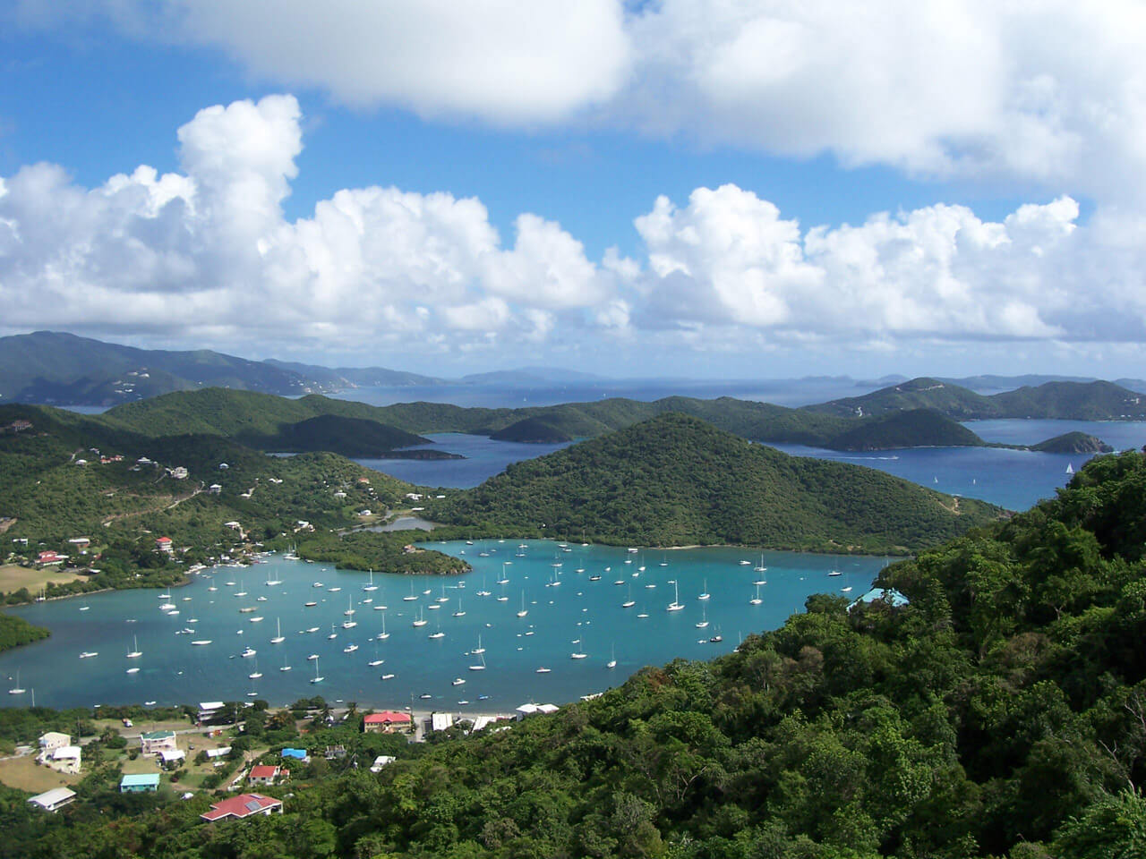 The View from Waterlemon Villa - Coral Bay Harbor, St. John, US Virgin Islands