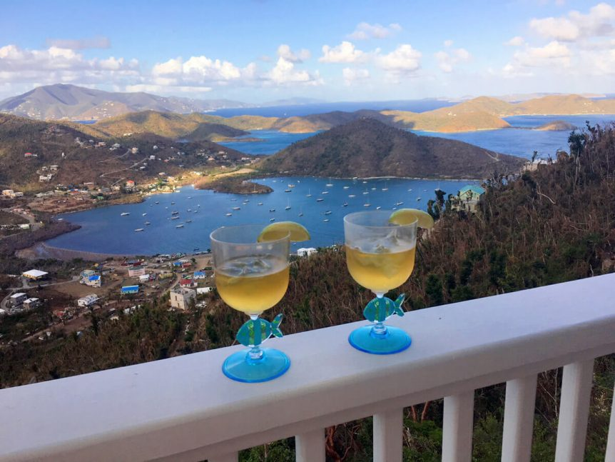 Enjoy the view with drinks