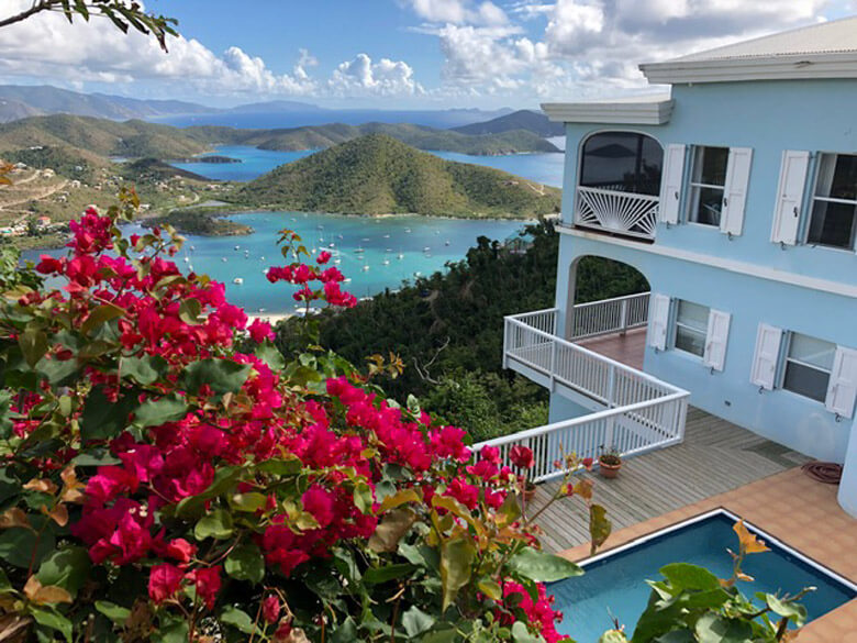 Welcome to Waterlemon Villa with its expansive views of Coral Bay